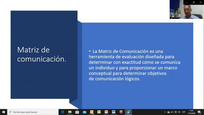 """CONFERENCIA VIRTUAL: """"MECANISMOS DE COMUNICACIÓN ORGANIZACIONAL"""""""