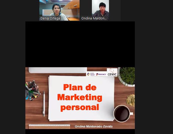 """PROCINCO OFRECE WEBINAR """"PLAN DE MARKETING PERSONAL"""""""