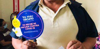 MÁS DEL 80% DE EMPLEADOS DE HANES EN HONDURAS INICIARON SU PROCESO DE INMUNIZACIÓN CONTRA COVID-19